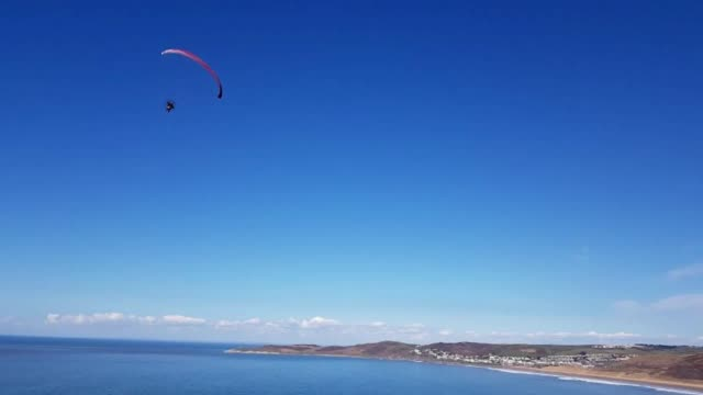 high-flying property developer whose life came crashing down when the motorised paraglider, or paramotor, he was piloting plummeted 200 feet from the... - paralysis stock videos & royalty-free footage