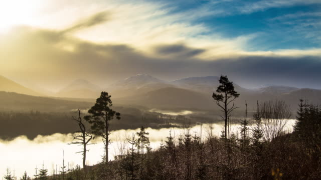 Highland Fog - Time Lapse