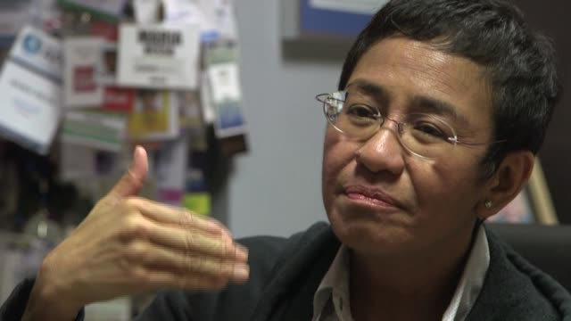 high-profile philippine journalist maria ressa was convicted monday in a cyber libel case that press freedom advocates have branded a ploy to silence... - critic stock videos & royalty-free footage