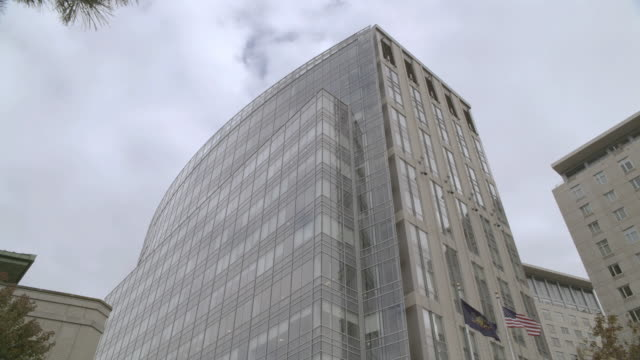 td high-rise hospital building in the city - medical building stock videos and b-roll footage