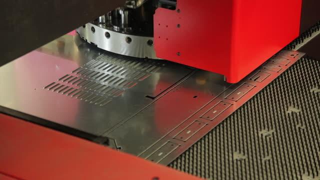 High-speed sheet metal punching press