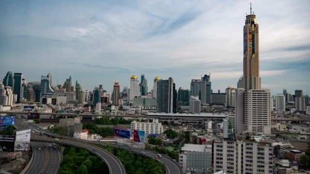 Highway bangkok timelaps