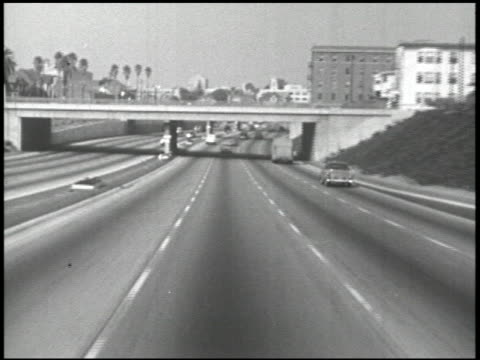 highway hearing - 9 of 28 - autostrada interstatale americana video stock e b–roll