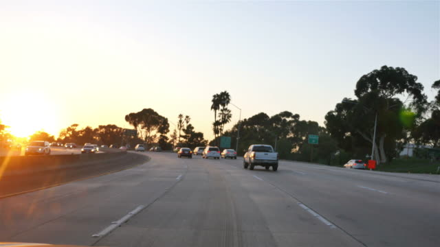 highway in california in 4k - san diego stock videos & royalty-free footage