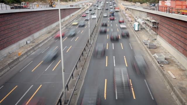 highway in germany - berlin charlottenburg / timel apse - apse stock videos & royalty-free footage