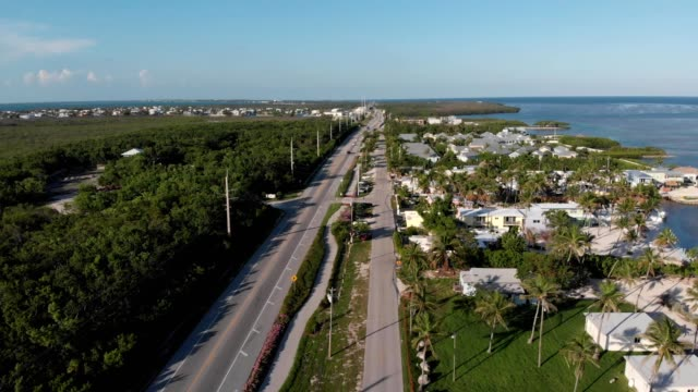 highway in the florida keys - the florida keys stock videos & royalty-free footage