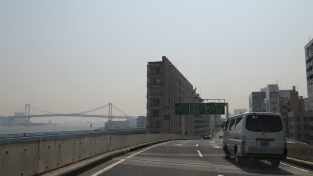 Highway in Tokyo, Japan