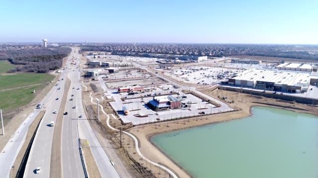 Highway Intersection in Prosper Texas