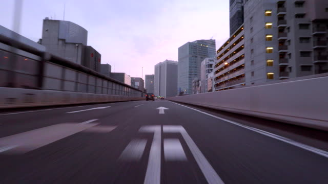 highway  junction at morning - 4k- - length stock videos & royalty-free footage
