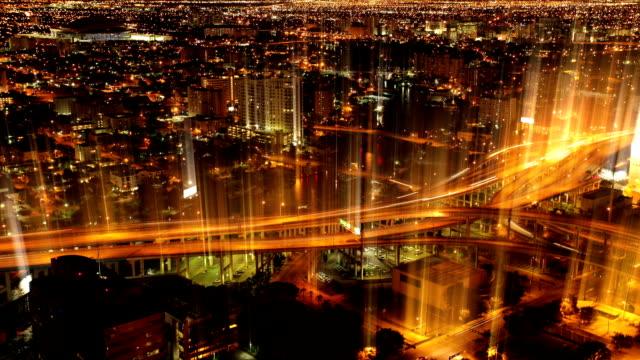 vídeos y material grabado en eventos de stock de highway de miami - faro luz de vehículo
