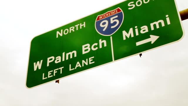 HD: Highway Sign In Florida