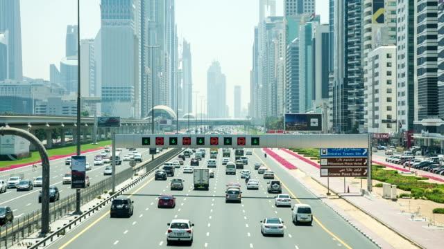 HD :高速道路の交通状態でドバイ
