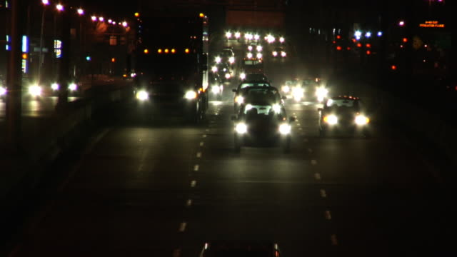 highway traffic - montréal stock videos & royalty-free footage