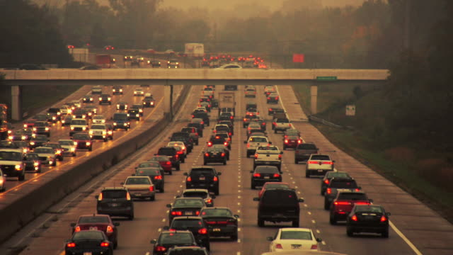 highway traffic - traffic jam stock videos & royalty-free footage