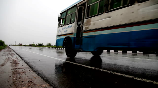 highway  traffic - bus stock videos & royalty-free footage