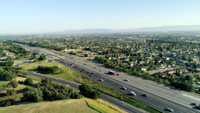 stockvideo's en b-roll-footage met snelweg - birthplace of silicon valley