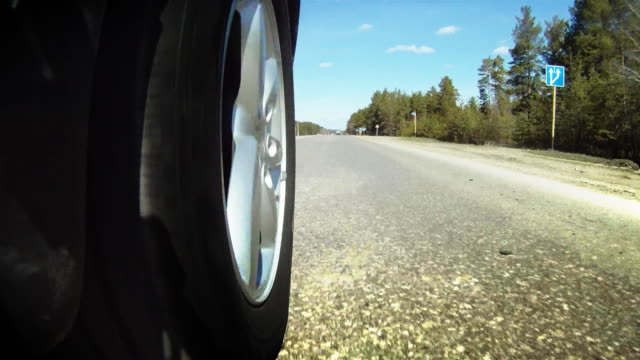 highway - wheel stock videos and b-roll footage