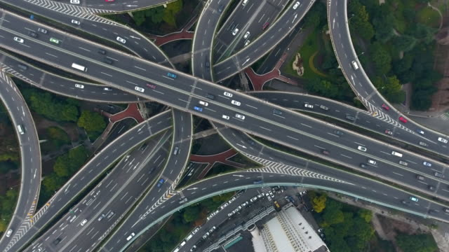 highway - motorway junction stock videos & royalty-free footage