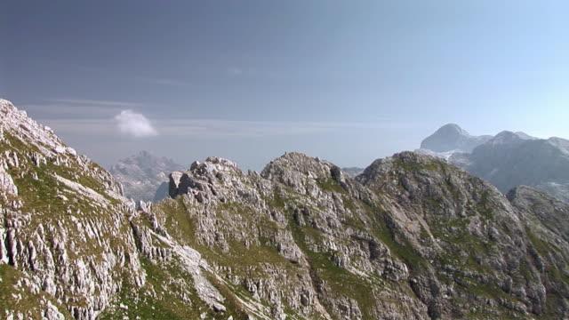 ws, zi, hiker on mount triglav, triglav national park, gorenjska, slovenia - triglav national park stock videos and b-roll footage