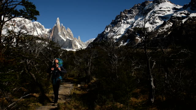 Hiking in Argentine Patagonia