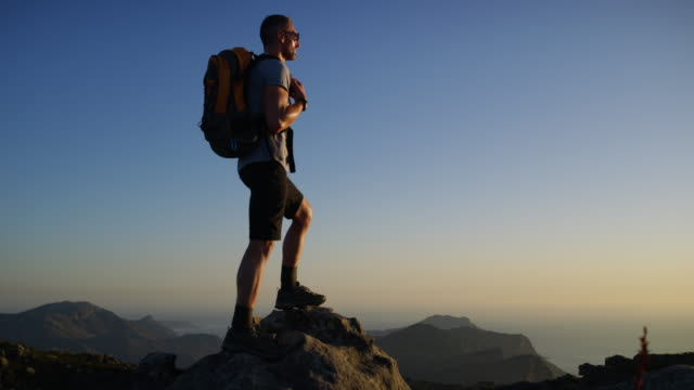 hiking is life - mountain stock videos & royalty-free footage
