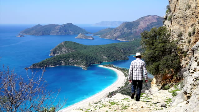 Hiking on Ancient Lycian Way.