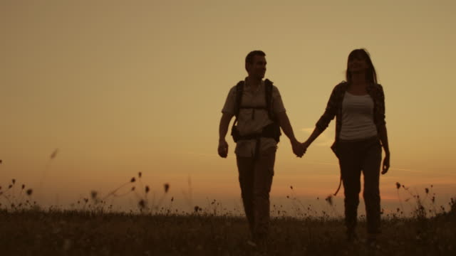 hiking romance - trust stock videos & royalty-free footage