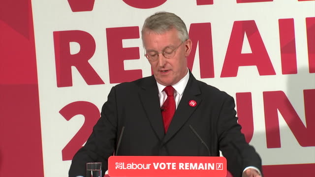 Hilary Benn the Labour MP in the Remain camp talks about the need for immigration and the free movement of workers in the EU