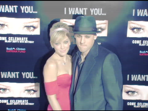 Hilary Duff and Joel Madden at the 18th Birthday of Hilary Duff at Mood in Los Angeles California on September 28 2005