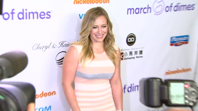 Hilary Duff arrives at 7th Annual March of Dimes Celebration of Babies on in Beverly Hills CA