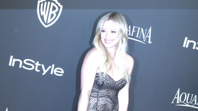 Hilary Duff at 16th Annual InStyle And Warner Bros Golden Globe AfterParty on January 11 2015 in Beverly Hills California