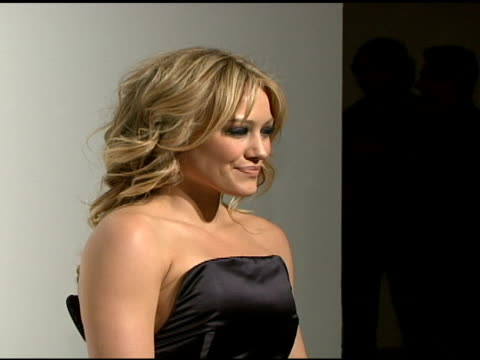 Hilary Duff at the Allure's Most Alluring Bodies to Kick Off Skin Cancer Awareness Month at Skylight Studios in New York New York on May 7 2008