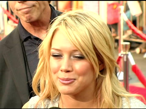 Hilary Duff at the 'Raise Your Voice' Premiere on October 3 2004