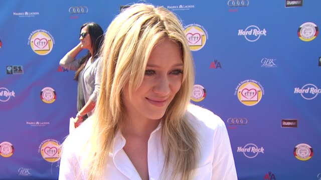 Hilary Duff on if she's an avid golfer at the Third Annual George Lopez Celebrity Golf Classic 2010 Audi quattro Cup at Toluca Lake CA