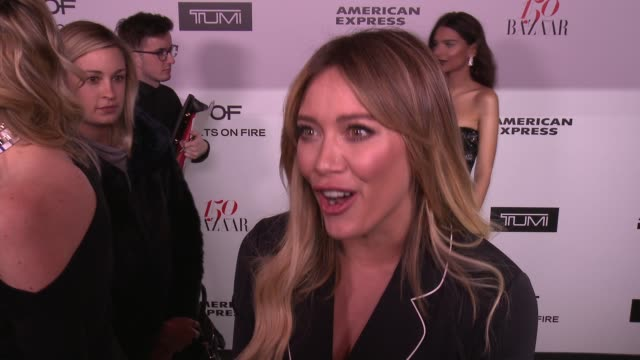INTERVIEW Hilary Duff on what brings her out what being fashionable/stylish means to her and who her style icons are Also talks about her most...
