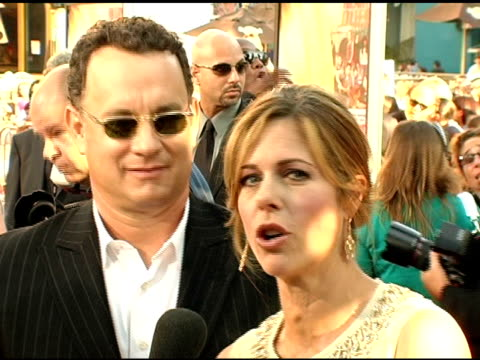 Hilary Duff Tom Hanks and Rita Wilson at the 'Raise Your Voice' Premiere on October 3 2004