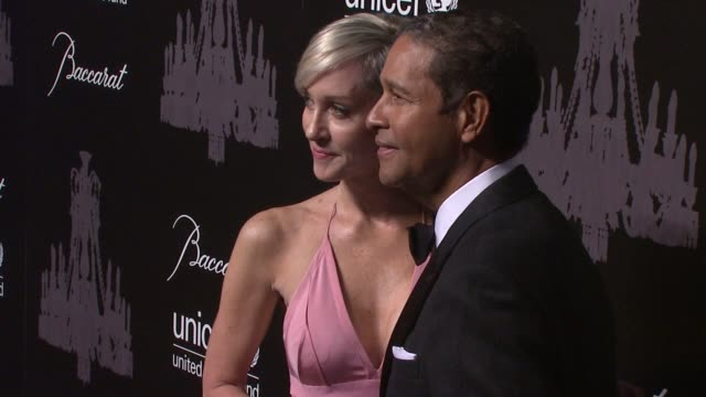 hilary gumbel and bryant gumbel at the ninth annual unicef snowflake ball at cipriani, wall street on in new york city. - cipriani manhattan stock videos & royalty-free footage