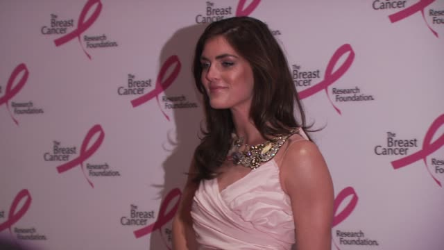 hilary rhoda at the 2010 breast cancer research foundation's hot pink party arrivals at new york ny - hot pink stock videos and b-roll footage