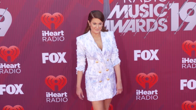 Hilary Roberts at the 2019 iHeartRadio Music Awards at Microsoft Theater on March 14 2019 in Los Angeles California