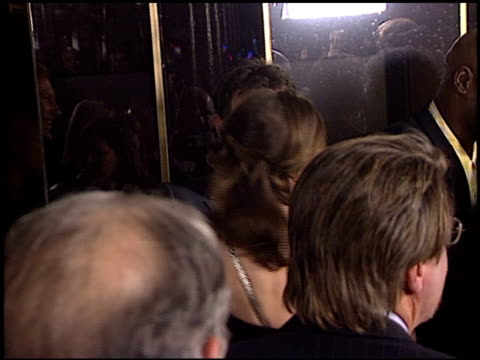 hilary swank at the premiere of 'the core' on march 25, 2003. - hilary swank stock videos & royalty-free footage