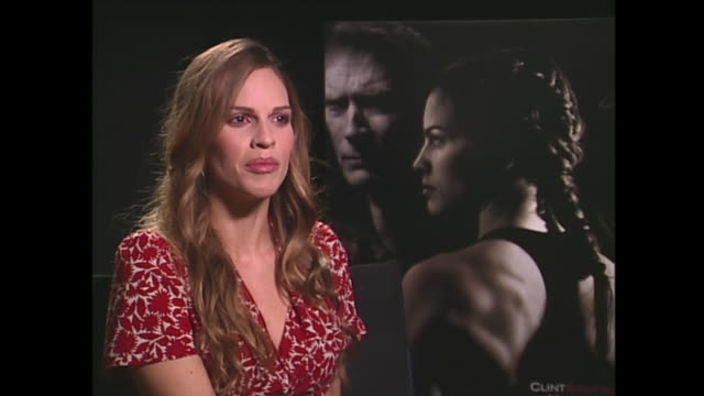 hilary swank on growing up in a trailer park - hilary swank stock videos & royalty-free footage