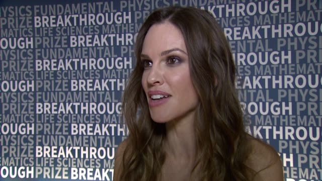 hilary swank on november 08, 2015 in mountain view, california. - hilary swank stock videos & royalty-free footage