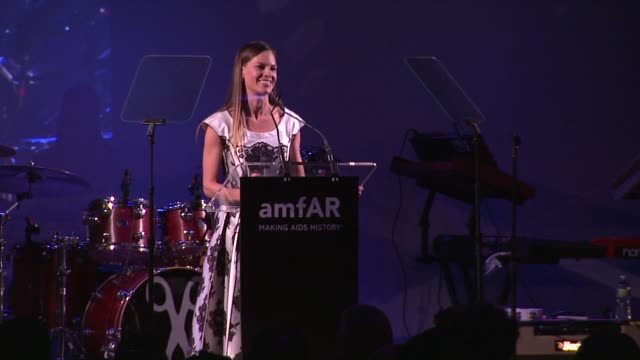 hilary swank presents robert duffy with award at 3rd annual amfar inspiration gala new york at the new york public library stephen a schwarzman... - hilary swank stock videos & royalty-free footage
