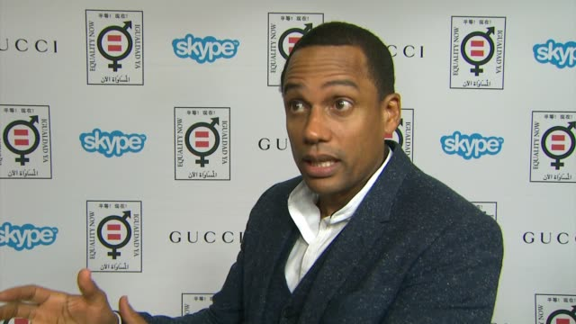 interview hill harper on why he supports equality now how we all can help make equality a reality and his thoughts on the honorees at equality now's... - equality now stock videos and b-roll footage