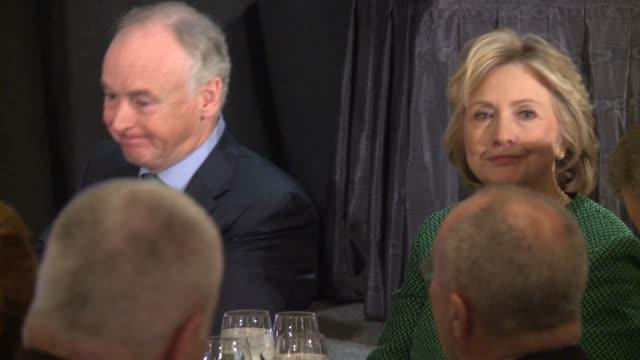 Hillary Clinton accepts IrishAmerican honor and recalls Irish Peace Process in a preStPatrick's Day event