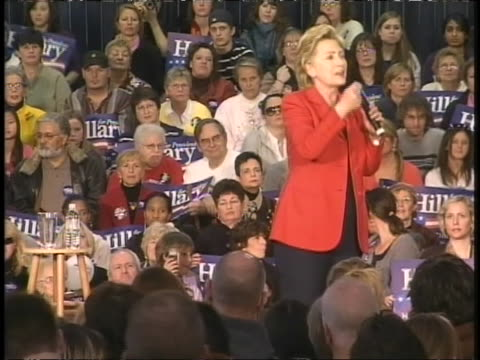 hillary clinton discusses stem cell research at a women for hillary rally in pennsylvania - stem cell stock videos & royalty-free footage