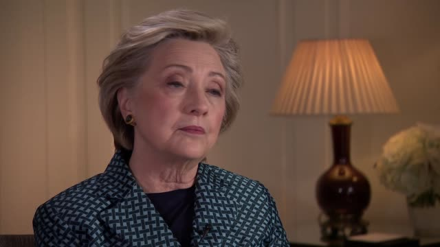 Hillary Clinton interview Hillary Clinton interview SOT Iran nuclear deal / impeachment / private email server / Harvey Weinstein association /...