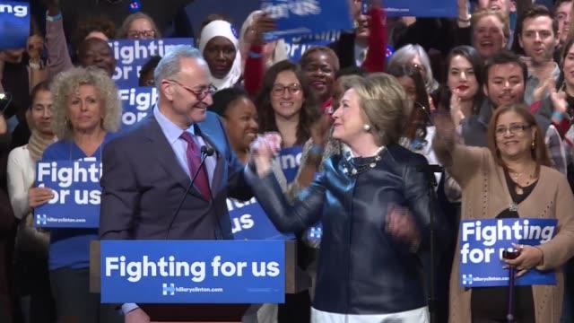Hillary Clinton Rally at the Apollo Theater
