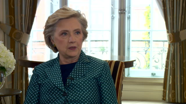 Hillary Clinton saying Vladimir Putin had a 'personal grudge' against her