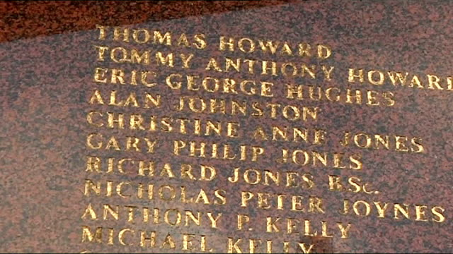 anniversary england liverpool anfield ext hillsborough memorial - anniversary stock videos & royalty-free footage